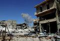 Освобожденный район Рамусе на юге Алеппо. Архивное фото