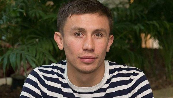 Боксер Геннадий Головкин