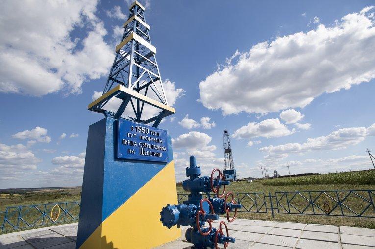 Запуск буровой установки на Шебелинском газовом месторождении