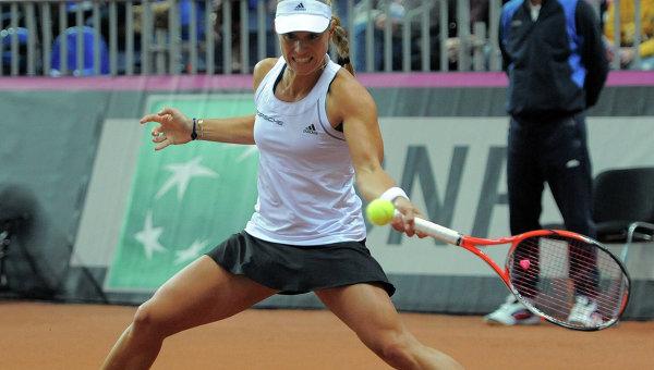 Немецкая теннисистка Кербер одолела втурниреUS Open