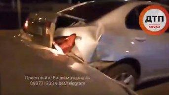 Надежда Савченко попала в ДТП в Киеве