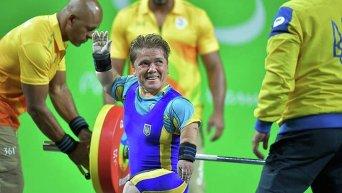 В соревнованиях по пауэрлифтингу золото завоевала украинка Лидия Соловьева (до 50 кг)
