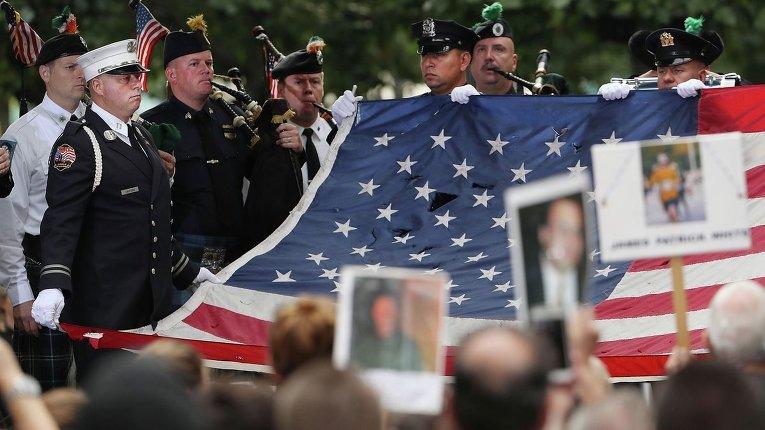 ВСША сегодня почтят память погибших втеракте 11сентября 2001г.