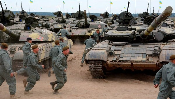 На Гончаровском полигоне соревновались танкисты, морпехи и десантники