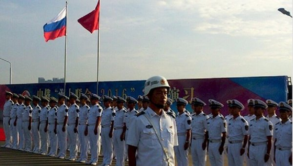 Отряд кораблей ТОФ прибыл в КНР для участия в российско-китайском учении «Морское взаимодействие-2016»