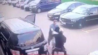 Похищение мужчины и женщины в Киеве