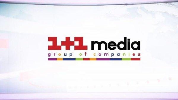 Логотип группы 1+1 медиа