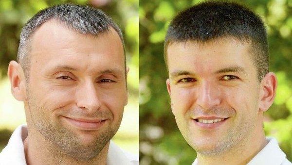 Антон Дацко и Андрей Демчук