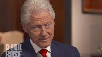 Билл Клинтон объяснил проблемы со здоровьем жены. Видео