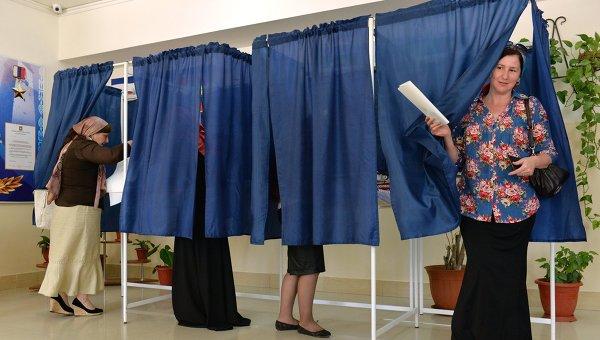 Голосование на выборах в Госдуму. Архивное фото