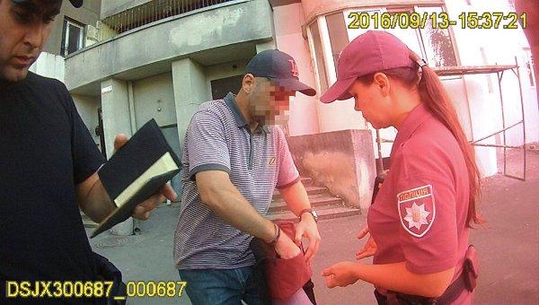 ВКиеве патрульные устроили погоню заграбителем сострельбой