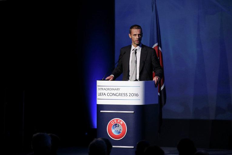 В Афинах в рамках очередного конгресса состоялись выборы президента УЕФА, на которых победу одержал словенец Александр Чеферин.