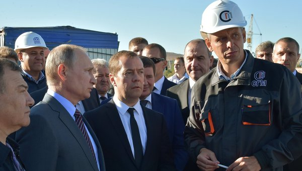 Все всборе: президент приехал вКрым