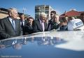 Министры иностранных дел Германии и Франции Франк-Вальтер Штайнмайер и Жан-Марк Эйро в Донбассе