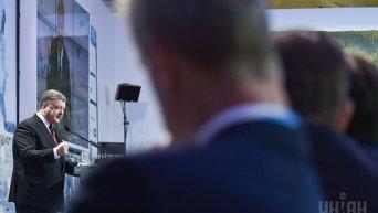 Президент Петр Порошенко на конференции Ялтинская европейская стратегия (YES)