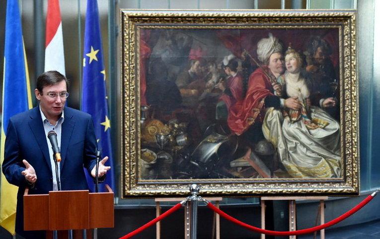 Украина сказала Нидерландам картины, найденные после кражи в2005