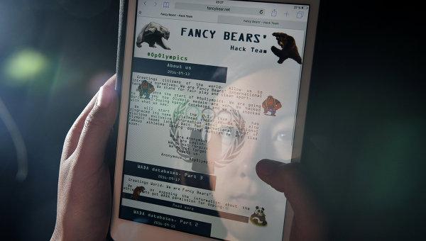 Сайт Fancy Bears. Архивное фото