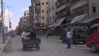 Авиаудары коалиции по сирийским войскам в Дейр-эз-зоре. Видео