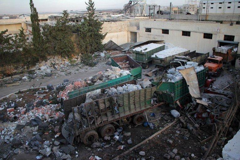 Алеппо, гумконвой