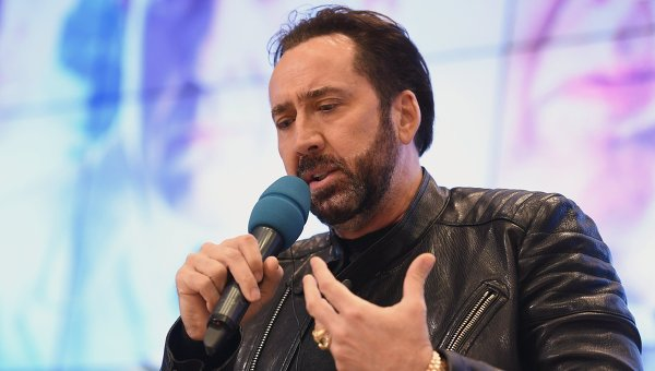 Американский актер Николас Кейдж