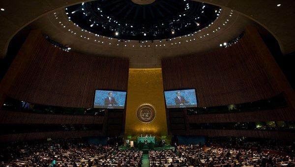 Всвоей последней речи наГенассамблее ООН Обама осудил действия РФ