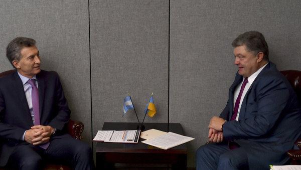 Президенты Украины иАргентины определили приоритеты двустороннего сотрудничества