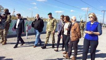 Депутаты Европарламента посетили Донбасс