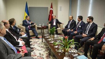 Встреча Порошенко и Эрдогана