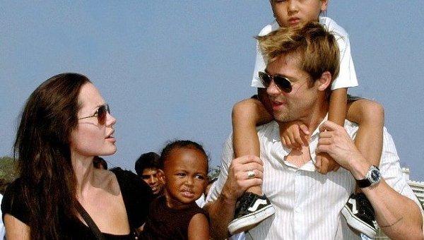 Дети отказываются жить сАнджелиной Джоли