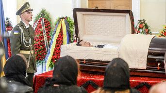 Церемония прощания с Андреем Тарановым