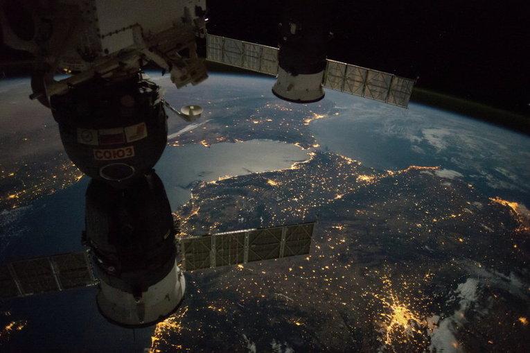 Так выглядит Земля ночью