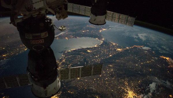 Земля из космоса. Архивное фото