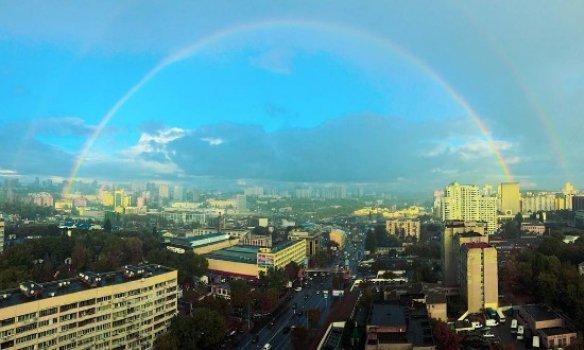 Радуга в Киеве
