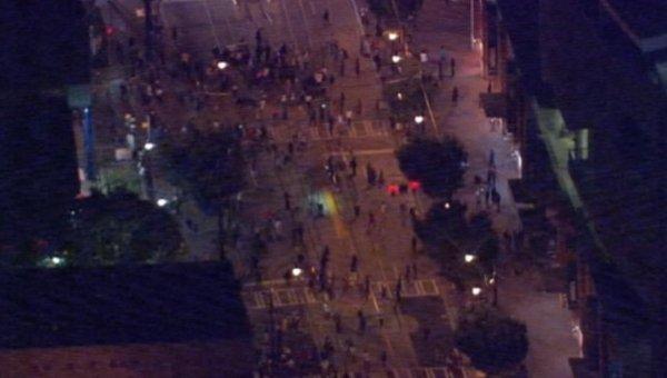 Акции протеста в Шарлотте