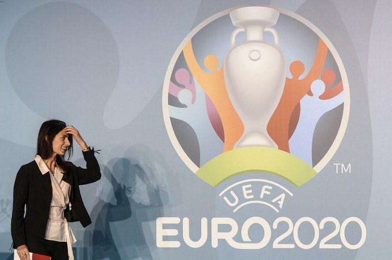 Мэр Рима Вирджиния Рагги в штаб-квартире CONI (Итальянский олимпийский комитет) в центре Рима