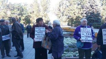 В Николаеве вышли на тарифный митинг