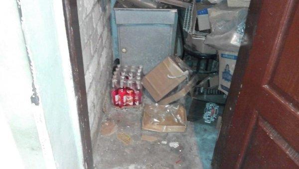 Поддельный алкоголь в Харьковской области