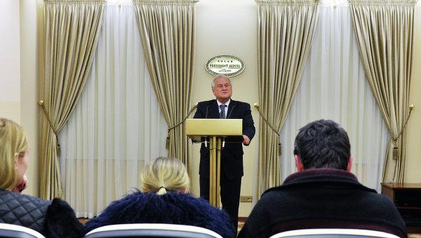 Пресс-конференция спецпредставителя ОБСЕ по Украине Мартина Сайдика