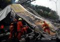 В столице Индонезии обрушился мост