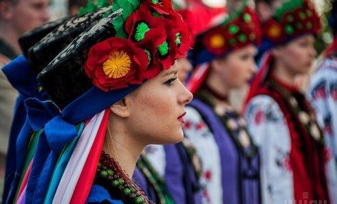 Парад в Полтаве ко Дню города