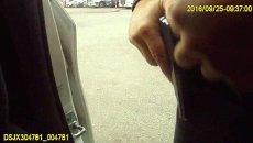 Фото с камеры патрульного, убитого в Днепре