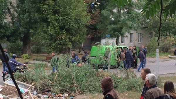 Операция по задержанию подозреваемого в убийстве патрульных в Днепре