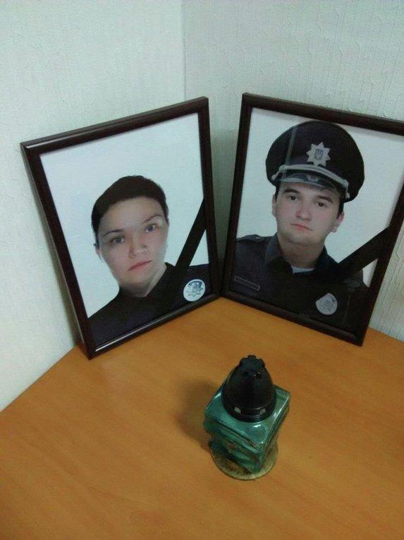 Погибшие в Днепре патрульные полицейские Ольга Макаренко и Артем Кутушев