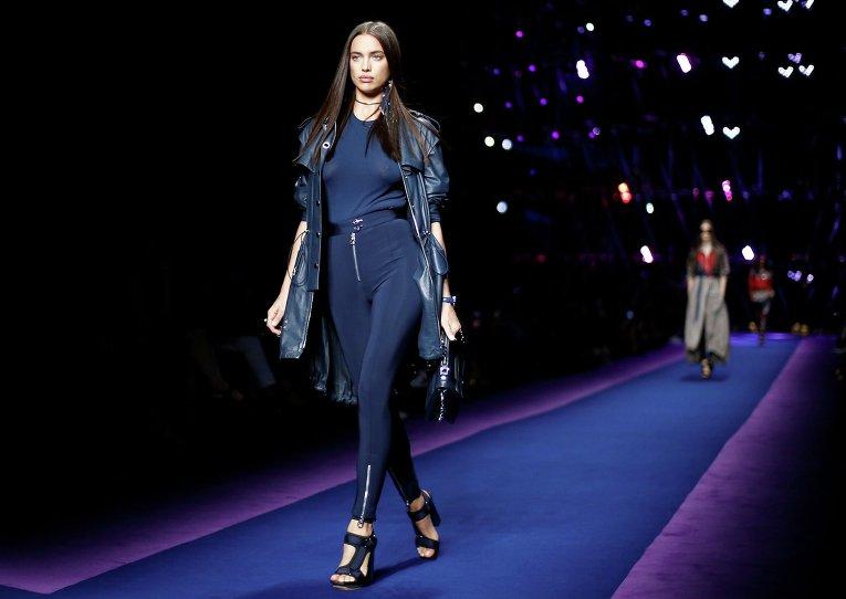 Ирина Шейк. Неделя моды в Милане