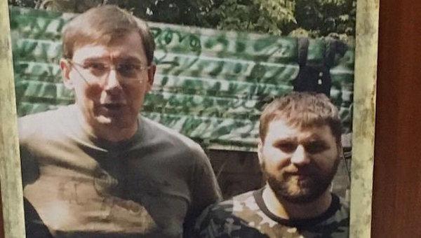 Совместное фото Юрия Луценко и Александра Пугачева