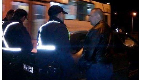 ВЛуцке выпивший военный комиссар врезался втакси и исчез