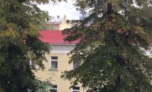 В центре Киева слышны звуки взрывов
