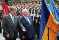 Реувен Ривлин и Петр Порошенко в Киеве