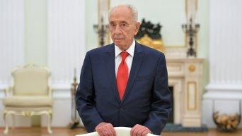 Шимон Перес в России. Архивное фото