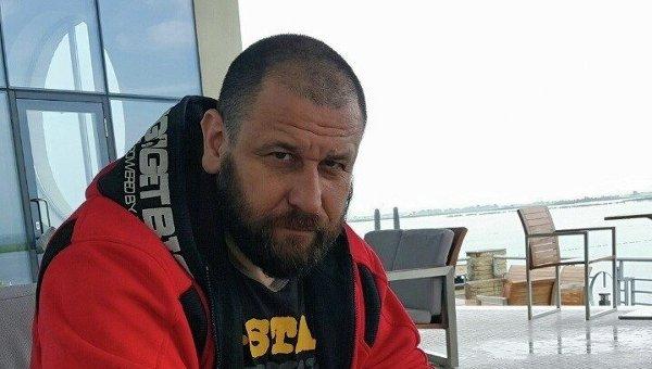 Командир расформированной спецроты МВД Торнадо Руслан Онищенко